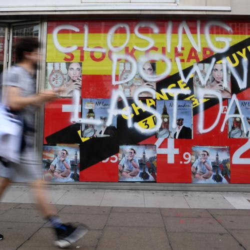 Warning of store closures in the UK as shop prices continue to fall
