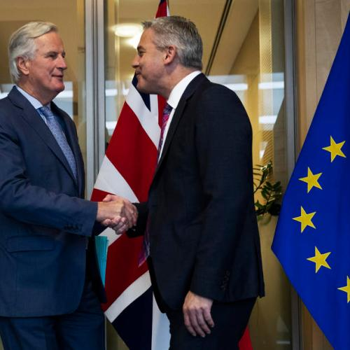 UPDATED: Barclay and Barnier holding make-or-break Brexit talks