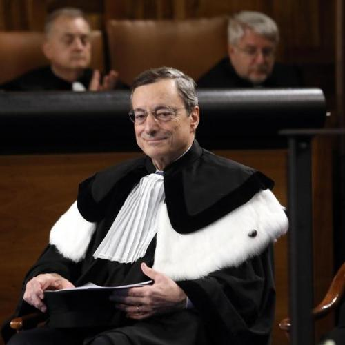 Photo Story: ECB President Mario Draghi honoured at Milan university