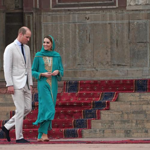 Photo Story: Duke and Duchess of Cambridge on Royal Tour of Pakistan