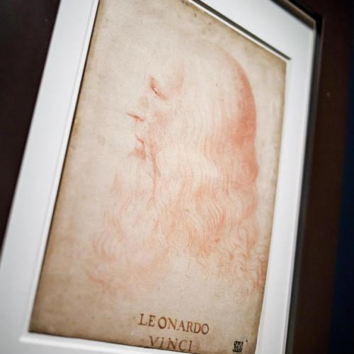 The Leonardo Da Vinci exhibition at the Louvre Museum in Paris