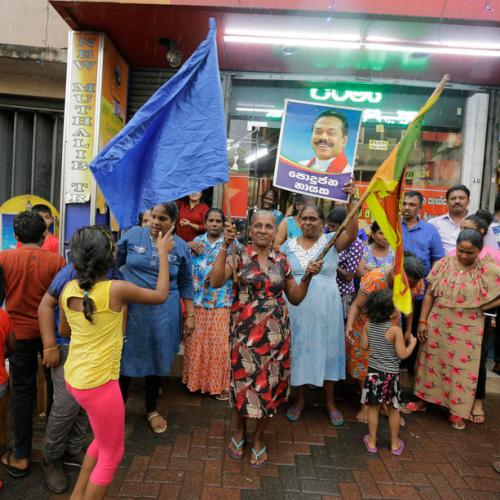 Sri Lanka's Premadasa accepts defeat at presidential poll
