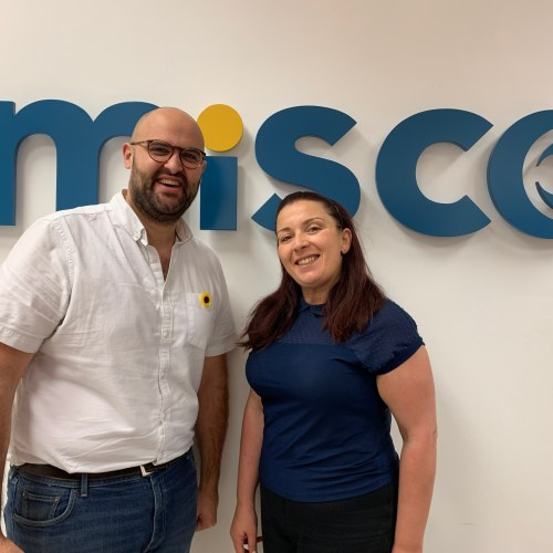 Hospice Malta volunteers receive Misco training