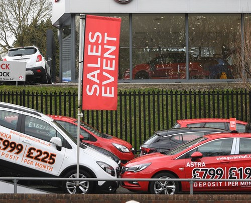 UK new car sales slump around 40% in lockdown January