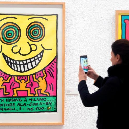 Photo Story: Keith Haring exhibition in Valladolid, Spain
