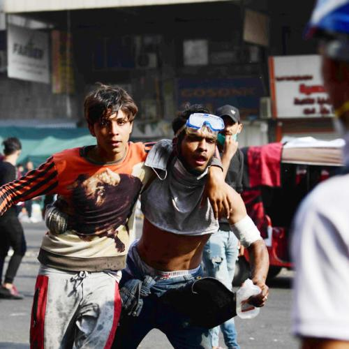 Anti-government protests persist in Baghdad