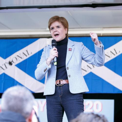 Nicola Sturgeon insists Scotland's future 'must be in our own hands'