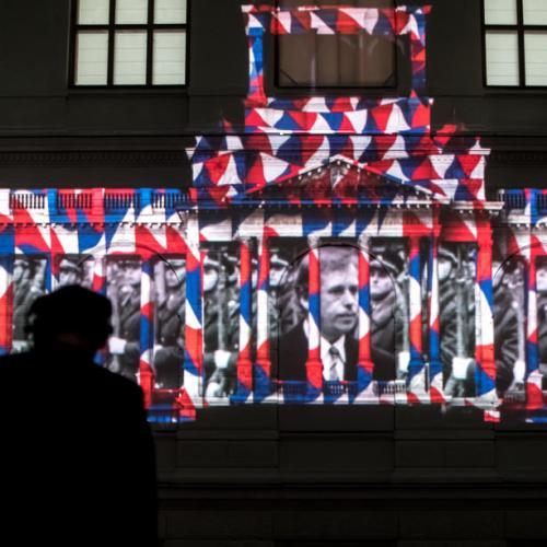 Photo Story: Commemorating the 30th anniversary of the Velvet Revolution in Prague
