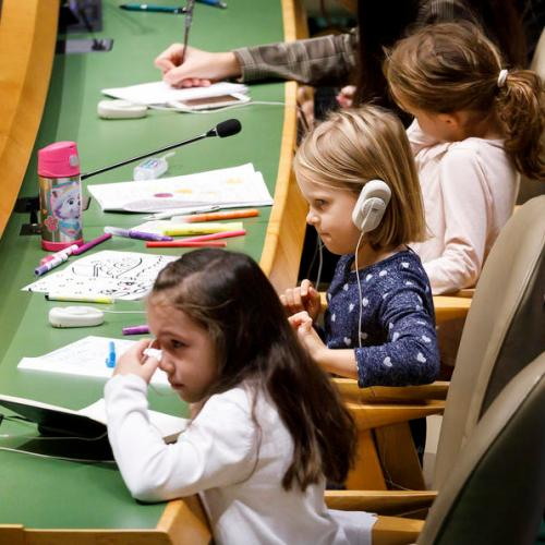 Photo Story: Universal Children's Day at the United Nations