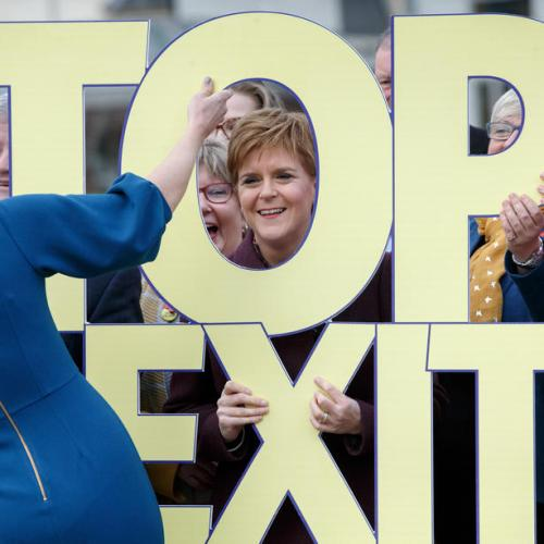 Nicola Sturgeon launches SNP election campaign