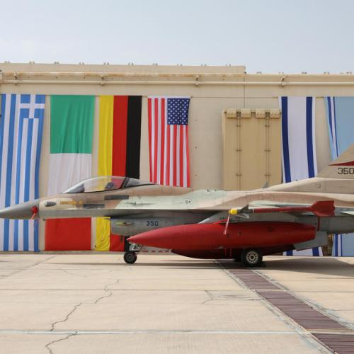Photo Story: Israeli 'Blue Flag' joint Air Forces drill