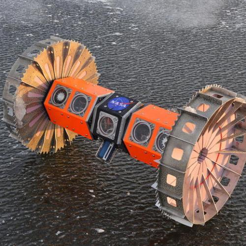 NASA space robot tests in Antarctica