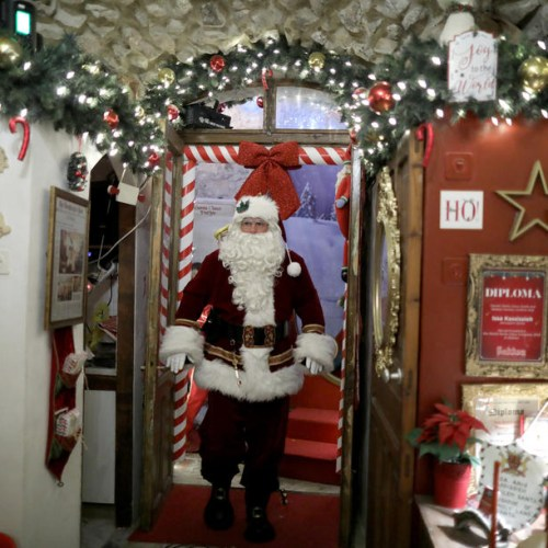 Santa Claus of Jerusalem