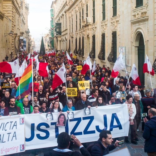 Malta: Thousands in Valletta march in pursuit of truth and justice – UPDATED