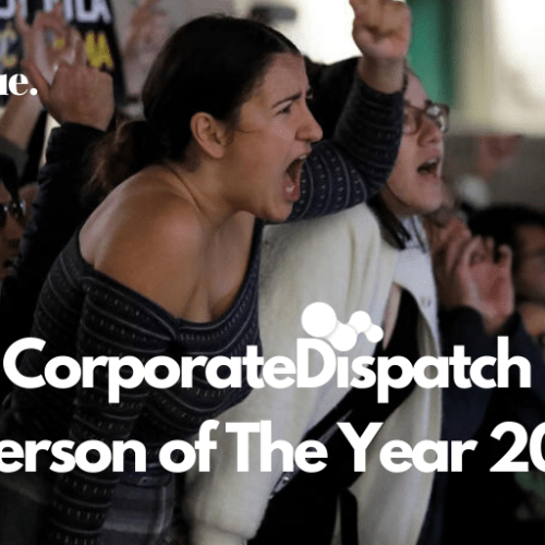'The Protestor' voted Corporate Dispatch Person of the Year
