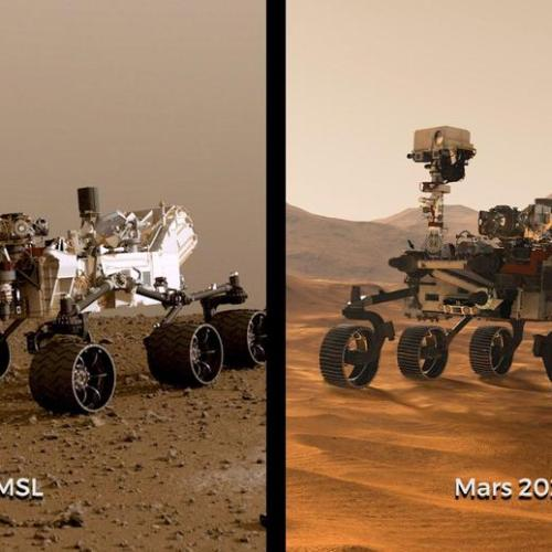 NASA unveils Mars 2020 rovers
