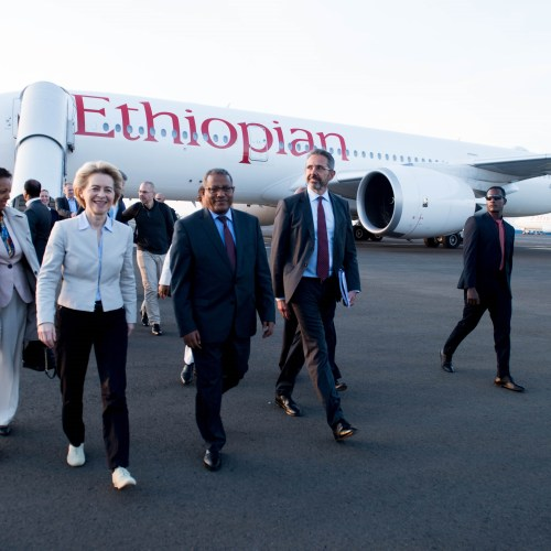 First foreign visit for von der Leyen, EU strengthens cooperation with Ethiopia