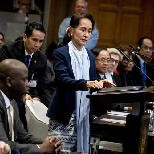 Suu Kyi rejects genocide claims in UN court