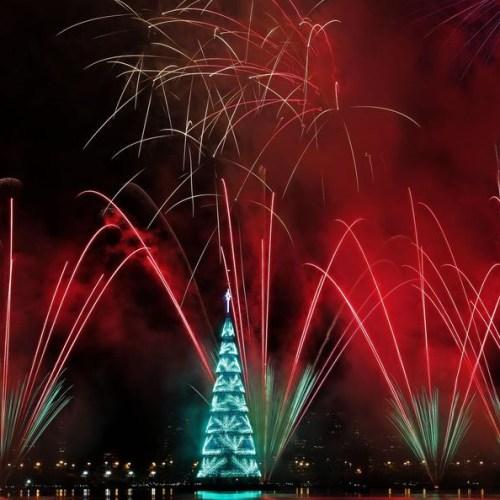 Photo Story: Inauguration of the Lagoa Christmas tree in southern Rio de Janeiro