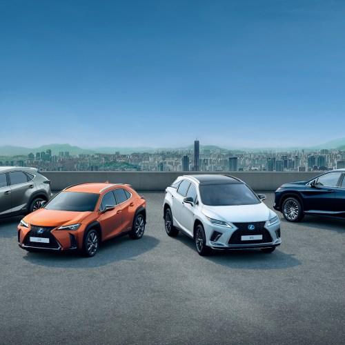 Lexus celebrates half a million SUV sales across its European markets