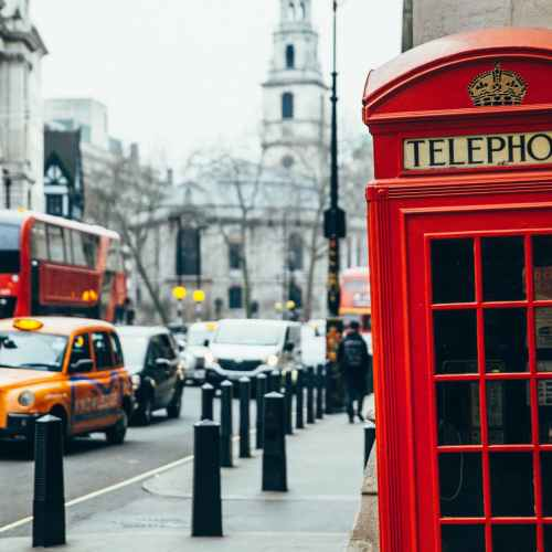 UK's iconic first red public telephone box listed in recognition of its iconic design status