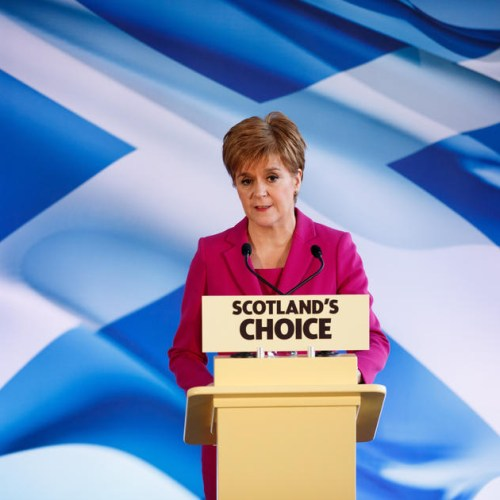 Sturgeon requests powers for referendum