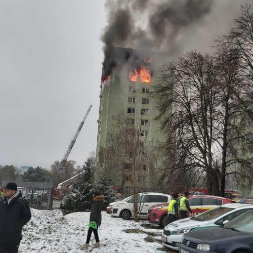 Photo Story: Five die in gas explosion in Slovakia
