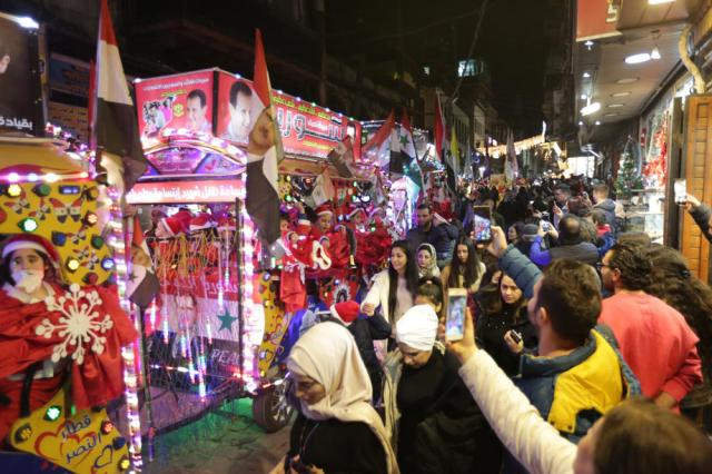 Christmas celebrations in Damascus