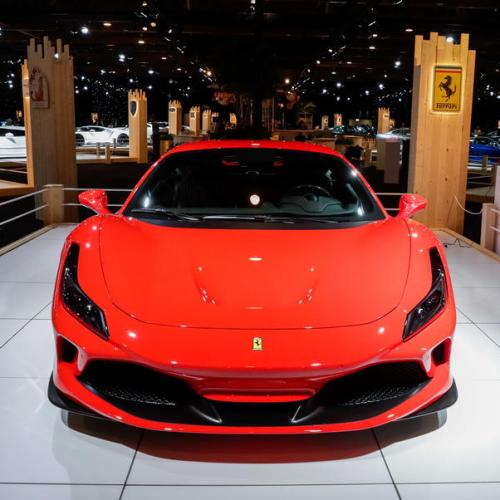 Photo Story: The Ferrari F8 at the Brussels Motor Show 2020
