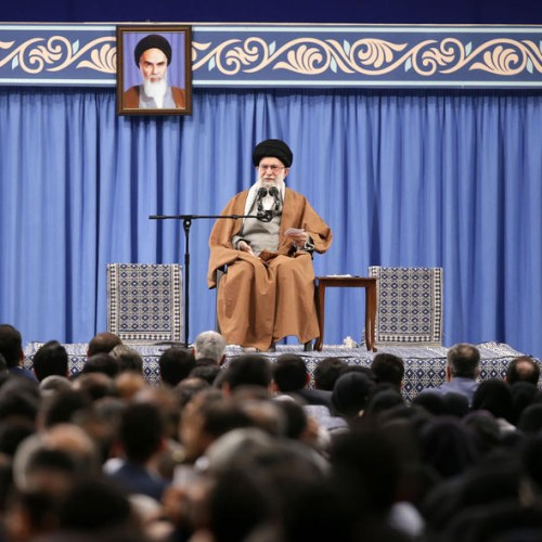"""Iran's supreme leader Khamenei warns """"Iran's is peaceful, but willing to deal with bullies of world"""""""