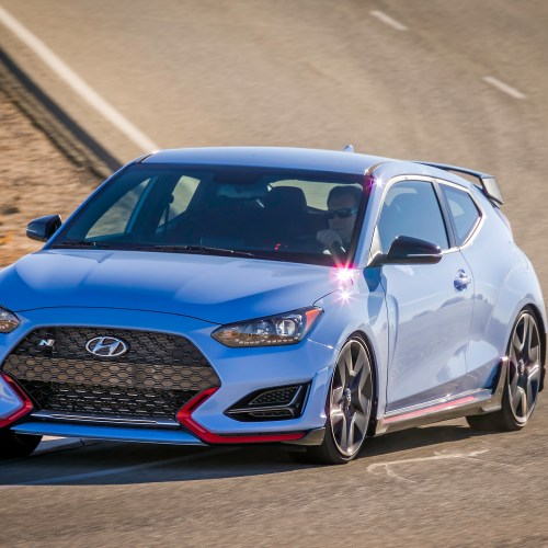 Veloster N awarded '2020 most fun-to-drive car of the year' in the U.S. by Cars.com