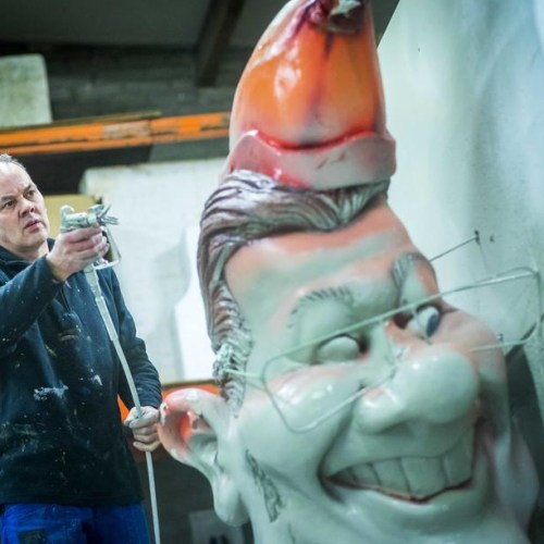 Photo Story: Preparations for carnival in the Netherlands