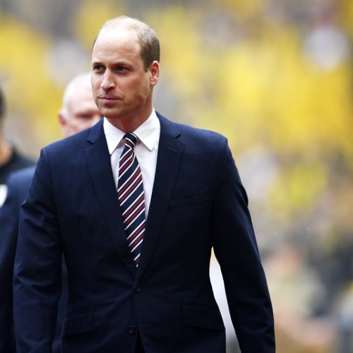 Prince William urges football fans to 'take a minute' for mental health