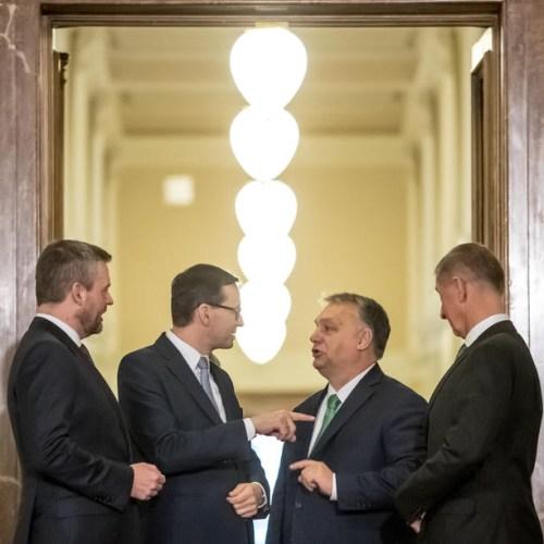 Photo: V4 and Austria summit in Prague