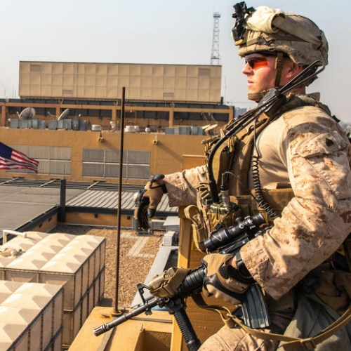 Photo story: Beefed up security at US embassy in Baghdad