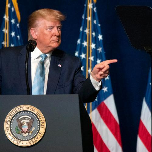 Trump warns Iran that it will be hit 'very fast and very hard' if it retaliates