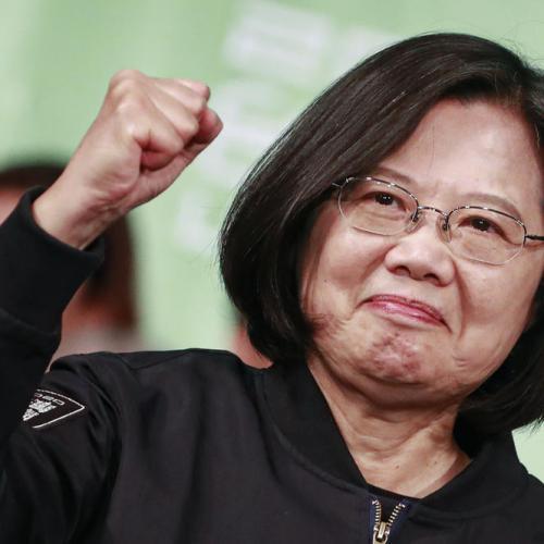 Taiwan President Tsai Ing-wen re-elected
