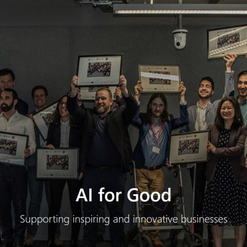 Microsoft's latest 'AI for Good' cohort aims to make the world a better place