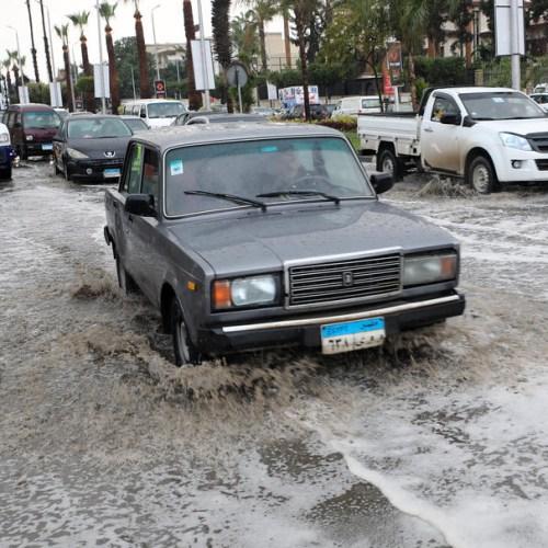 Photo Story: Rainstorm engulfs Cairo