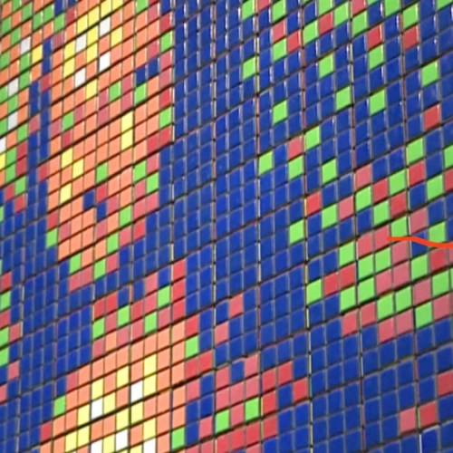 Rubik cube Mona Lisa set to be auctioned