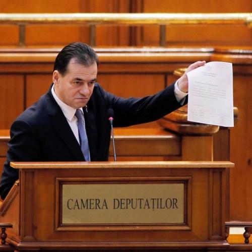 Romania's government loses confidence vote