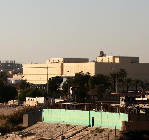 US embassy in Baghdad hit by multiple rockets