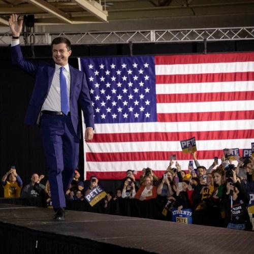 Buttigieg ahead in Iowa Democratic Party Caucus