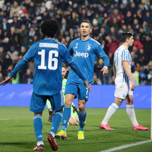 Ronaldo marks 1,000th official match by scoring for a record 11th straight league game