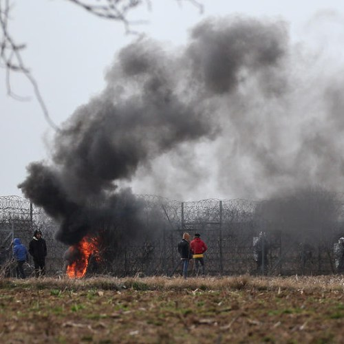 Photo Story: New clashes along Turkish-Greek land border