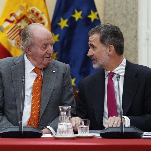 Spanish King renounces inheritance from father