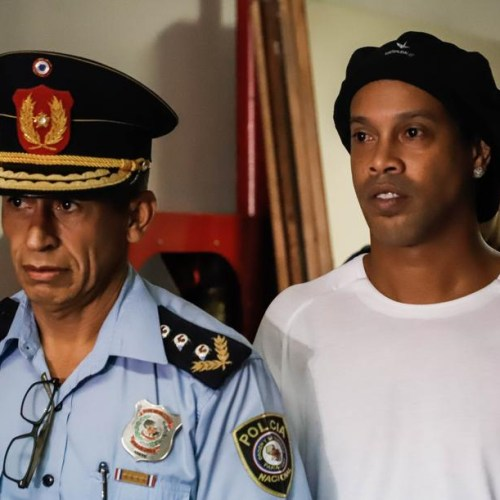 Photo Story: Ronaldinho in court in Paraguay over fake passport claims