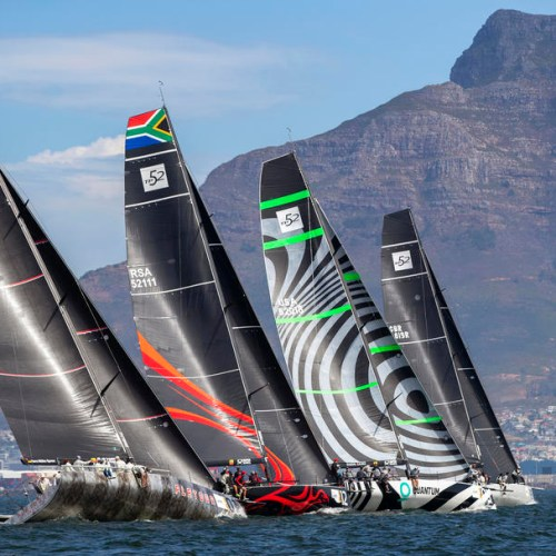 Photo Story: Sailing 52 Super Series yacht racing in South Africa