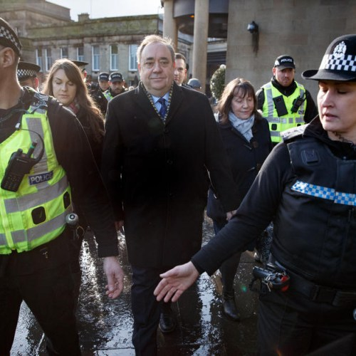 Photo Story: Former Scottish First Minister Salmond on trial over rape and sex abuse