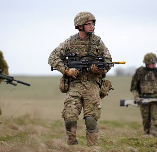 UK military gears up for deployment in Mali